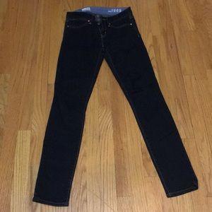 Gap always skinny dark denim jean